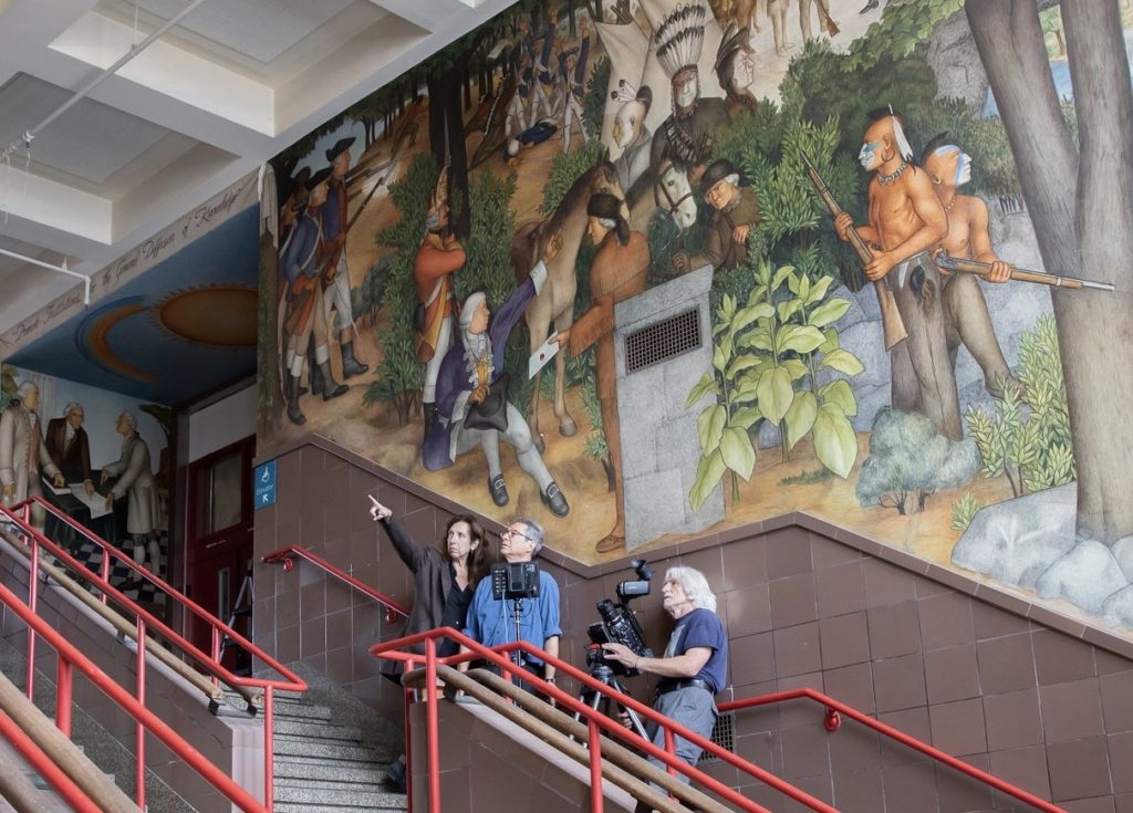 The Mural Controversy by Deborah Kaufman and Alan Snitow